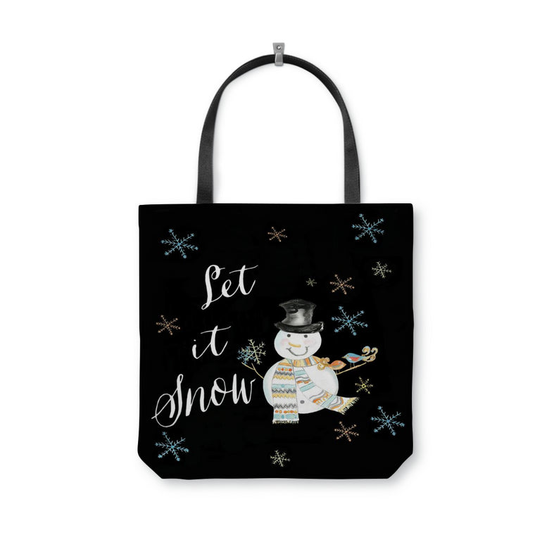 Let It Snow Tote Bag - tote - Dreams After All