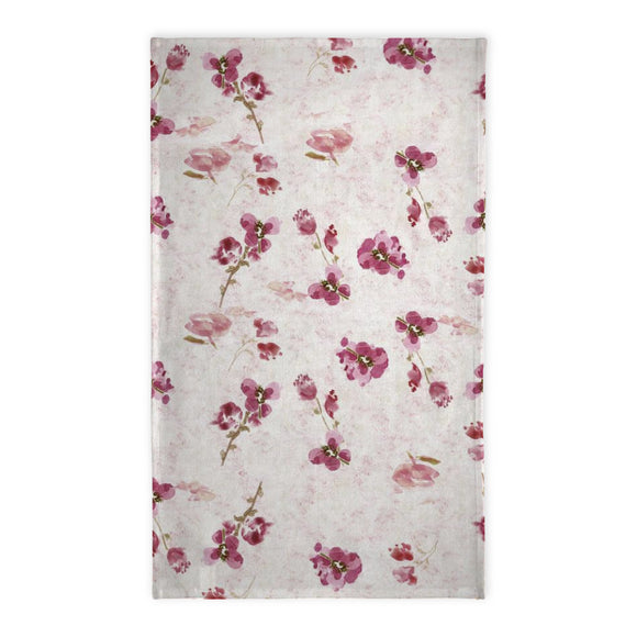 Spring Plum Tea Towel - Tea Towel - Dreams After All