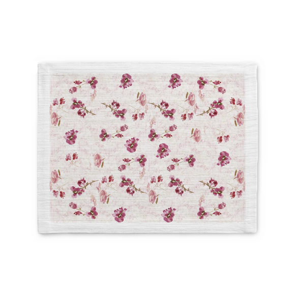 Spring Plum Placemat - Home Goods - Dreams After All