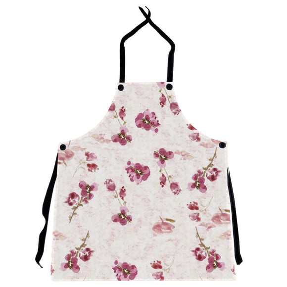 Spring Plum Floral Apron - Dreams After All
