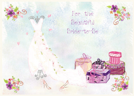 Wedding - Bride to Be Greeting Card - Dreams After All
