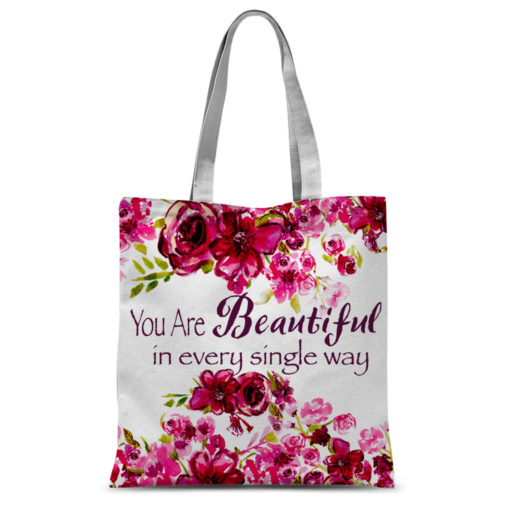 You Are Beautiful In Every Single Way Classic Shopper Tote Bag