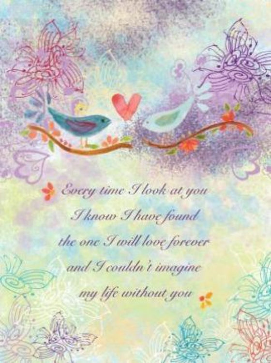 Anniversary Birds Greeting Card - Dreams After All