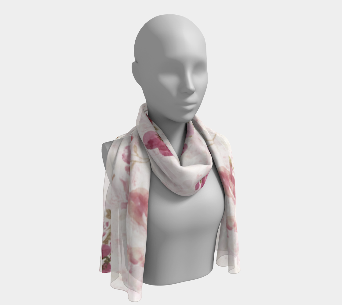 Spring Plum Long Scarf - Dreams After All