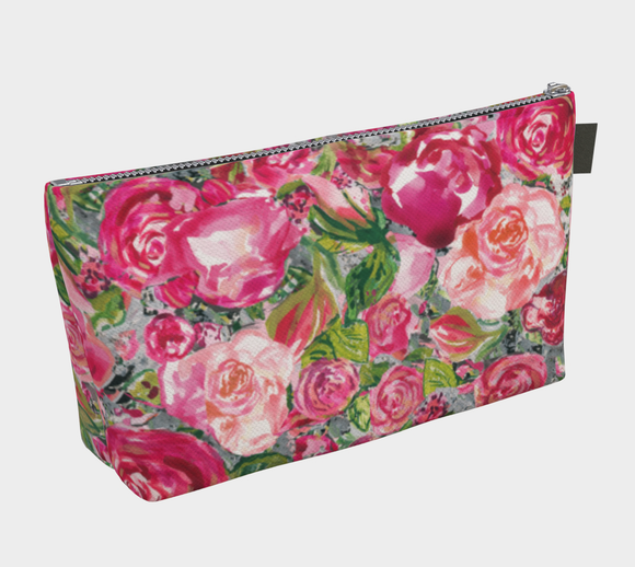 Love and Roses Makeup Bag