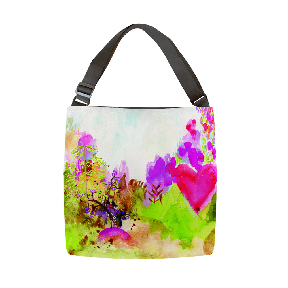 Tote With Adjustable Handle