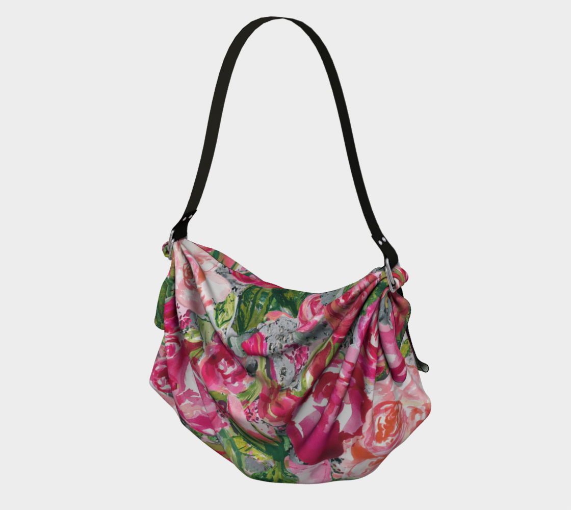 Love and Roses Origami Tote