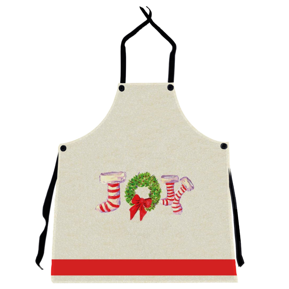 Joy Stockings Holiday Apron - Dreams After All