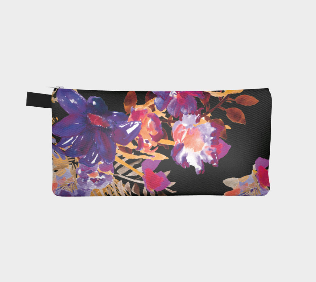Renée Purple Orange Pencil Bag