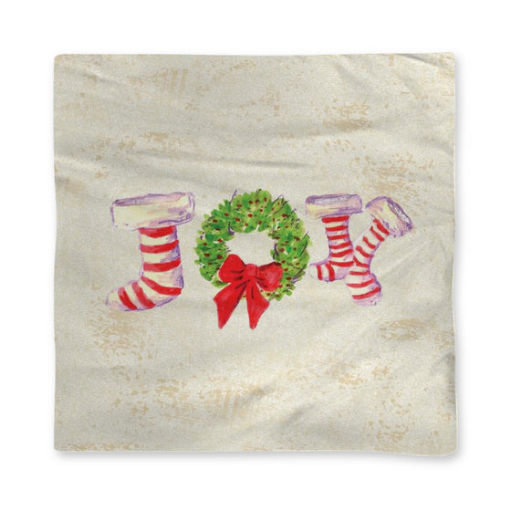 Joy Stockings Holiday Napkin - Home Goods - Dreams After All