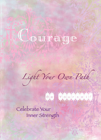 Blank Courage Greeting Card