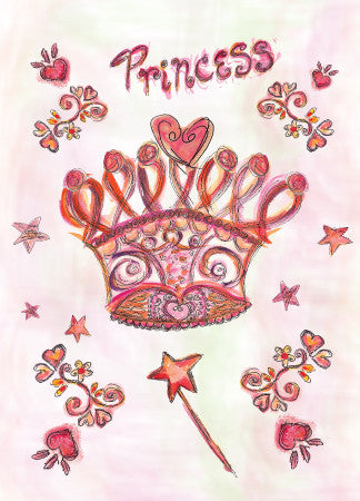 Princess Crown Birthday Card - Greeting Card - Dreams After All