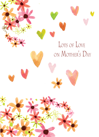 Mother's Day Greeting Card - Lots of Love on Mother's Day - Greeting Card - Dreams After All