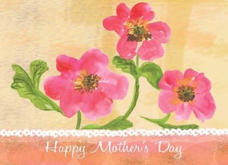 Mother's Day Greeting Card - Happy Mother's Day - Greeting Card - Dreams After All