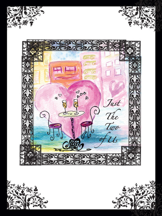 Anniversary Love Café Card - Greeting Card - Dreams After All