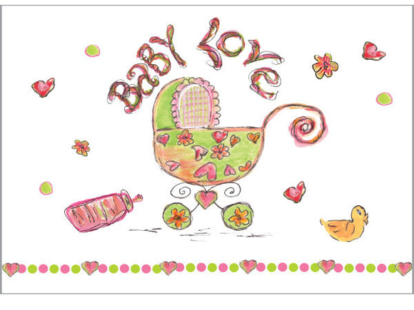 Baby Love Greeting Card - Dreams After All