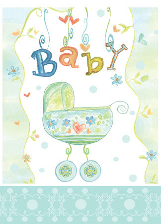 Baby Boy Blue Carriage - Dreams After All