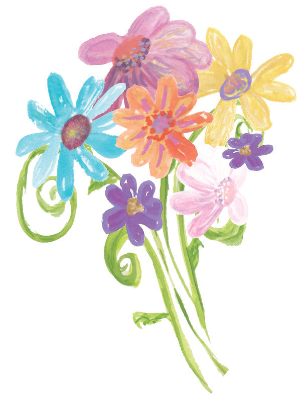 Blank Daisies Greeeting Card - Greeting Card - Dreams After All