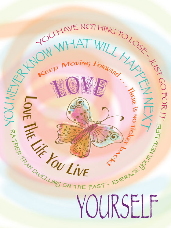 Blank Inspiration Love Yourself - Greeting Card - Dreams After All
