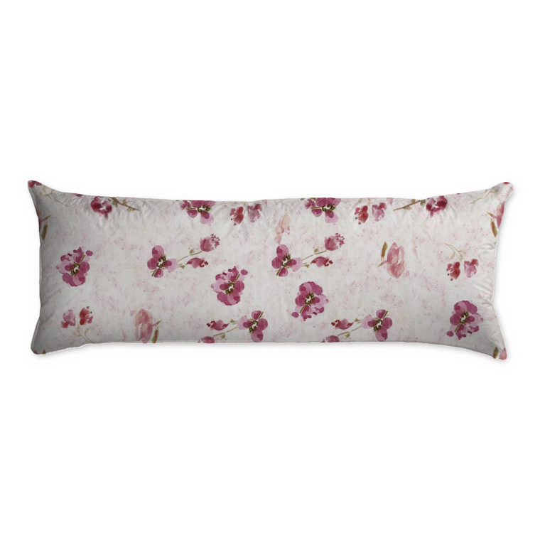 Spring Plum Body Pillow - Pillow - Dreams After All