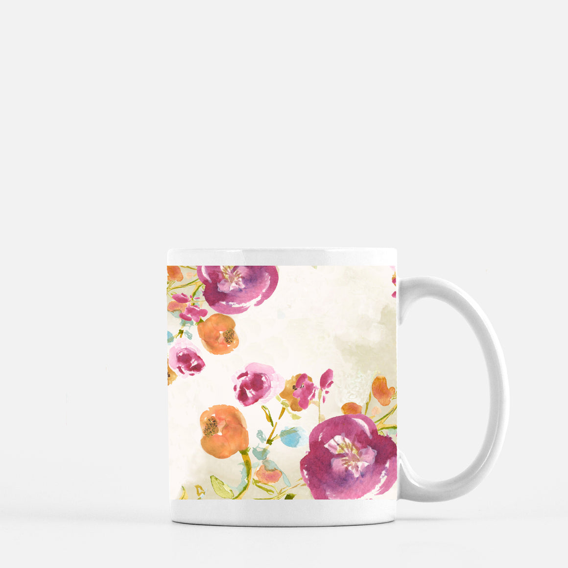 Oh Carolina Floral Ceramic Mug - Dreams After All