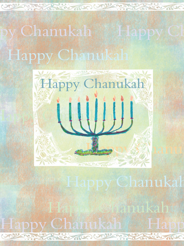 Happy Chanukah Card - Greeting Card - Dreams After All