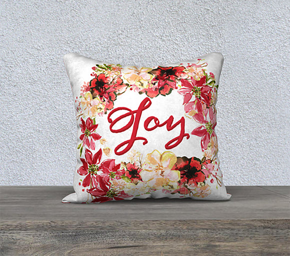 Joy Wreath Pillow - Dreams After All