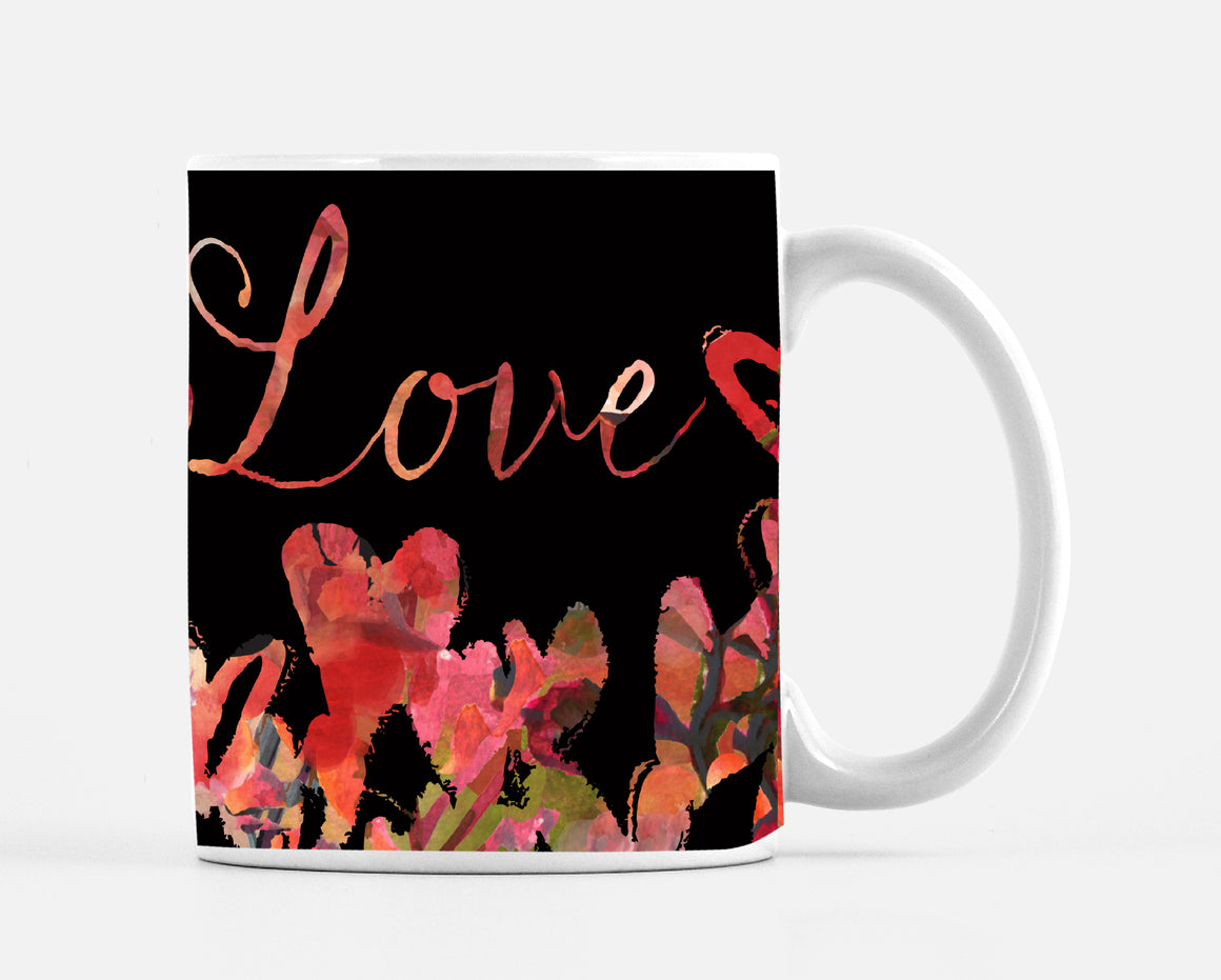 Deep Love 15 Ounce Ceramic Mug