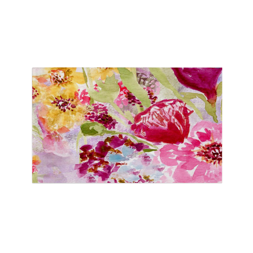 Dobby Rug - Spring Flowers - dobby rug - Dreams After All
