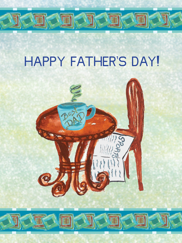 Happy Father's Day Greeting Card - Greeting Card - Dreams After All