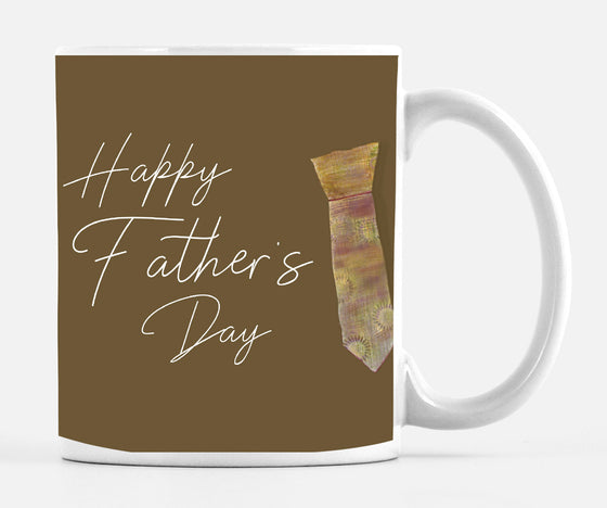 Happy Father's Day 15 ounce Large Mug - Mugs - Dreams After All