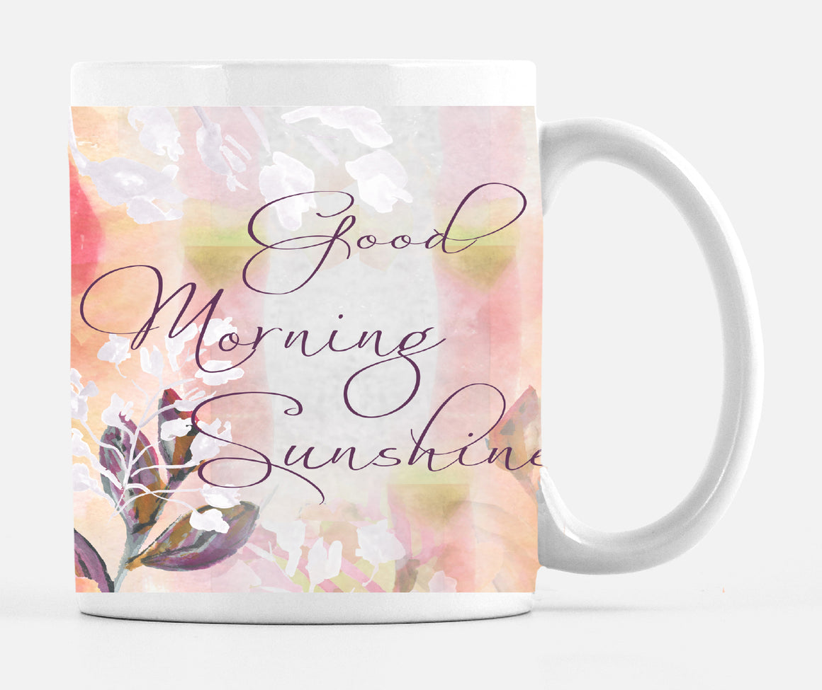 Good Morning Sunshine15 Ounce Ceramic Mug - Mugs - Dreams After All