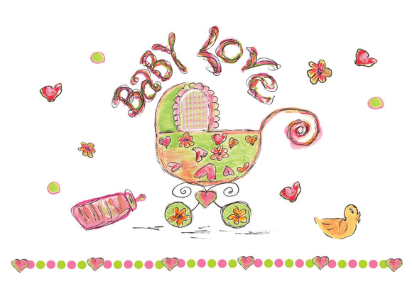 Baby Love Gift Enclosure - Gift Enclosure - Dreams After All