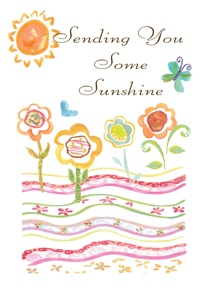 Sending Sunshine Gift Enclosure