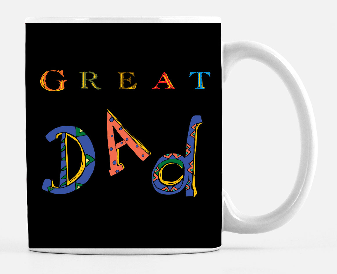 Mug Great Dad Black - Dreams After All