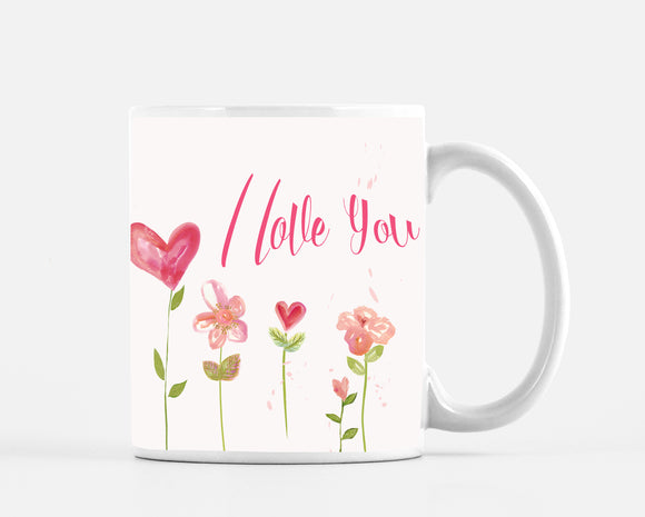 I Love You Pink 15 ounce Mug - Dreams After All