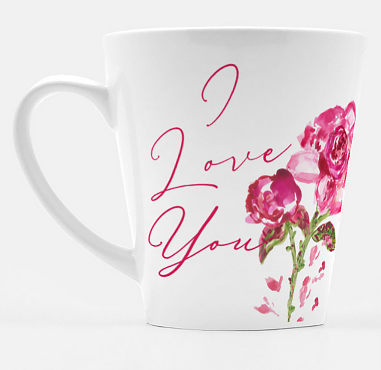I Love You Latte Mug - Mugs - Dreams After All