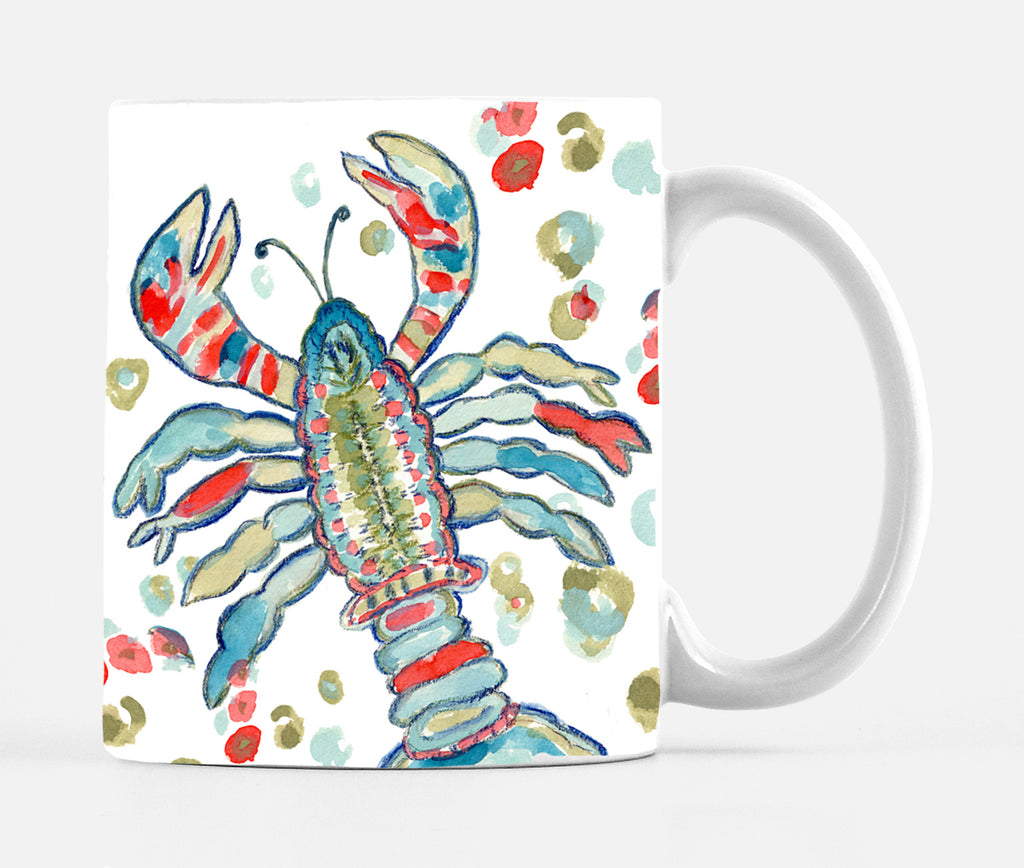 Color Me Lobster Large 15 ounce Mug - Mugs - Dreams After All