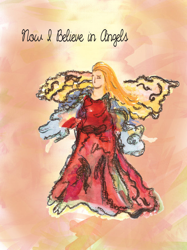 I Believe In Angels (Inspiration) Card
