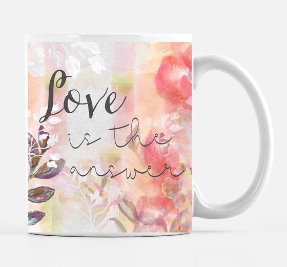 Love Is The Answer Mug - Mugs - Dreams After All