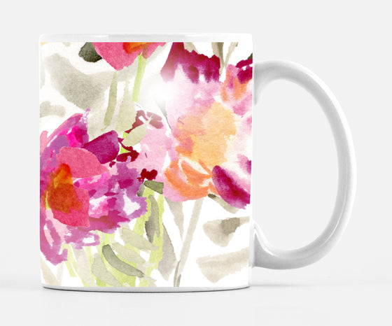 Renée White Large 15 ounce Mug Made in the U.S.A. - Mugs - Dreams After All