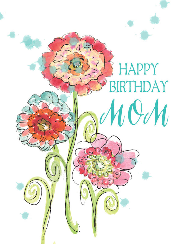 Happy Birthday Mom Greeting Card - Greeting Card - Dreams After All