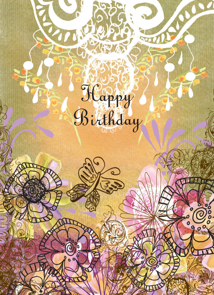 Olive Happy Birthday Card
