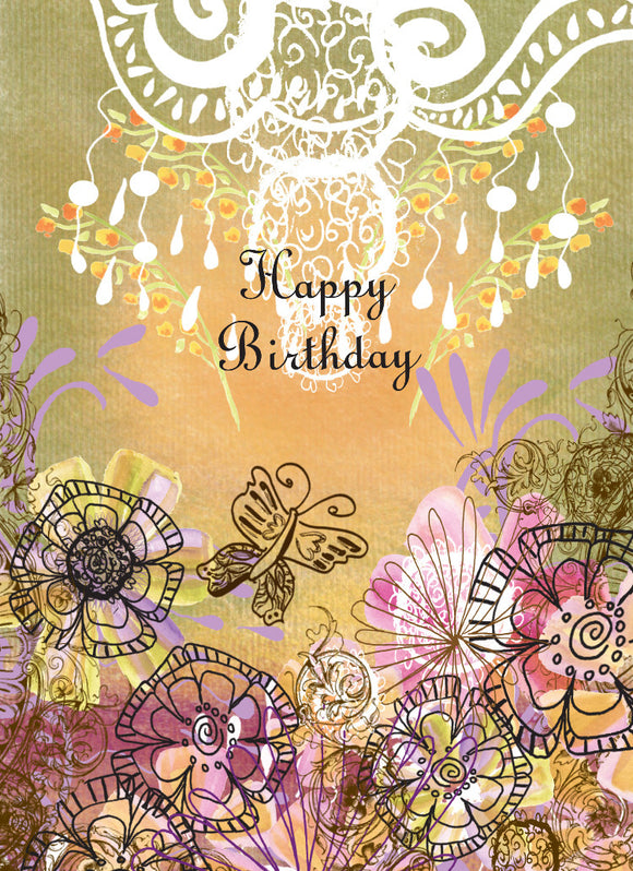Olive Happy Birthday Card - Greeting Card - Dreams After All