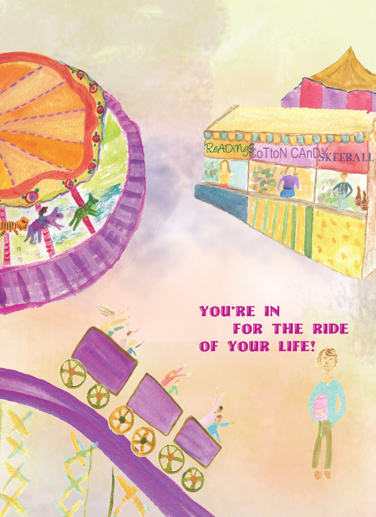 Carnival Happy Birthday Card - Greeting Card - Dreams After All