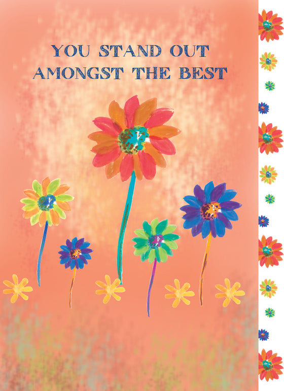 You Stand Out Amongst the Best Birthday Card - Greeting Card - Dreams After All