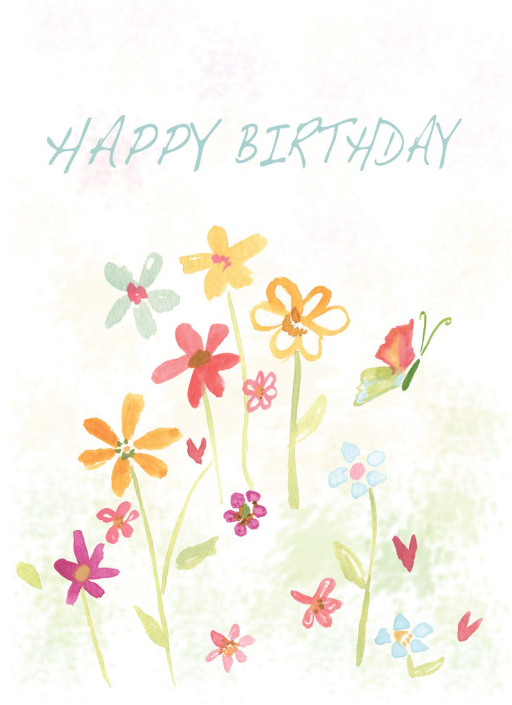 Happy Beautiful Day Birthday Card - Greeting Card - Dreams After All