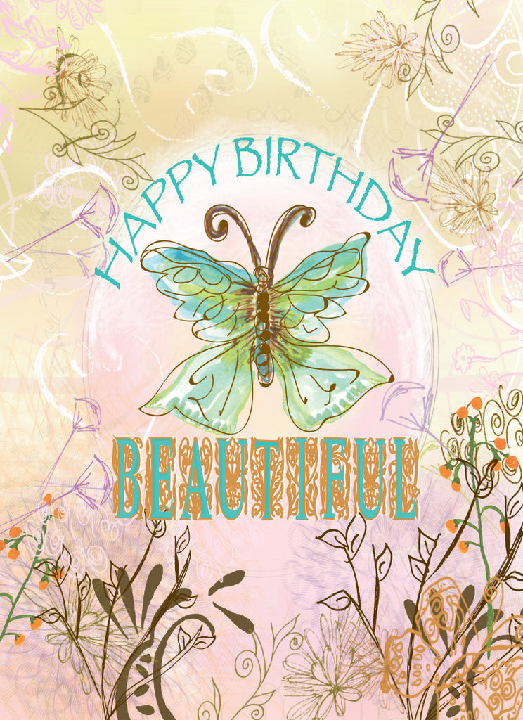 Happy Birthday Beautiful Greeting Card - Dreams After All