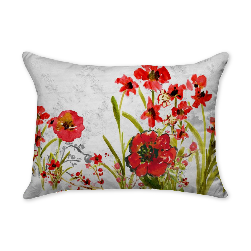 Ruby Callista Rectangular Throw Pillow - Dreams After All