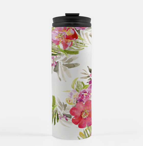 Renée White Tumbler - Tumbler - Dreams After All